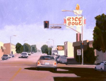 Bakersfield Art Mueseum Show - Bakersfield car show